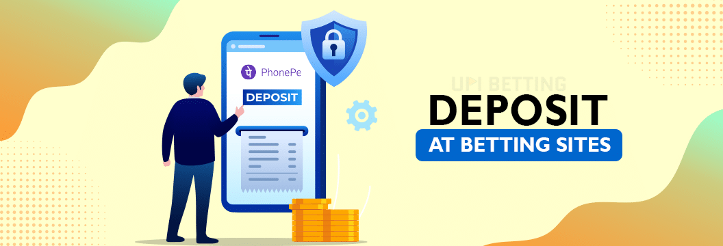 deposit process at phonepe betting sites