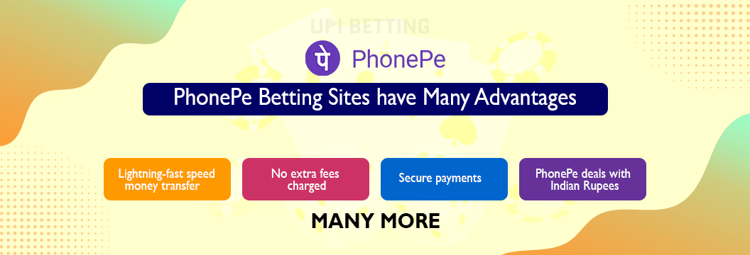 phonepe betting sites advantages